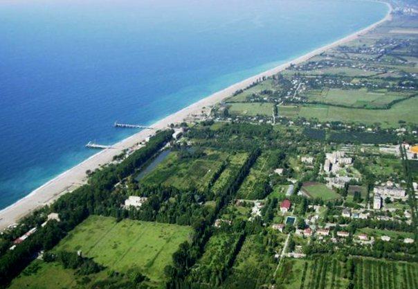 Отдых в Абхазии, Алахадзе частный сектор.
