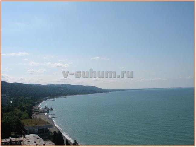 Отдых в Абхазии, Агудзера