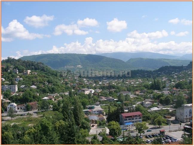 Абхазия, проживание в частном секторе.