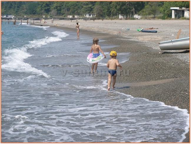 Отдых в Абхазии с детьми