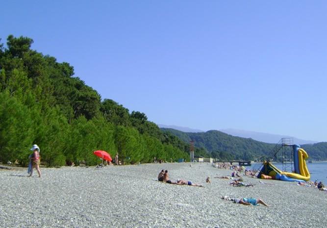 Отдых в Абхазии, поселок Лдзаа (Лидзава).