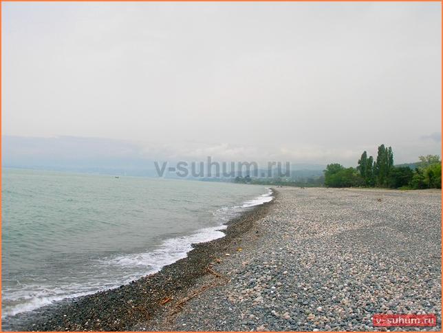 Частный сектор с.Мачара, Абхазия