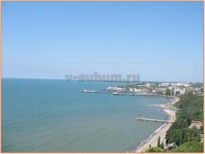 Пляжи Абхазии. Сухум.