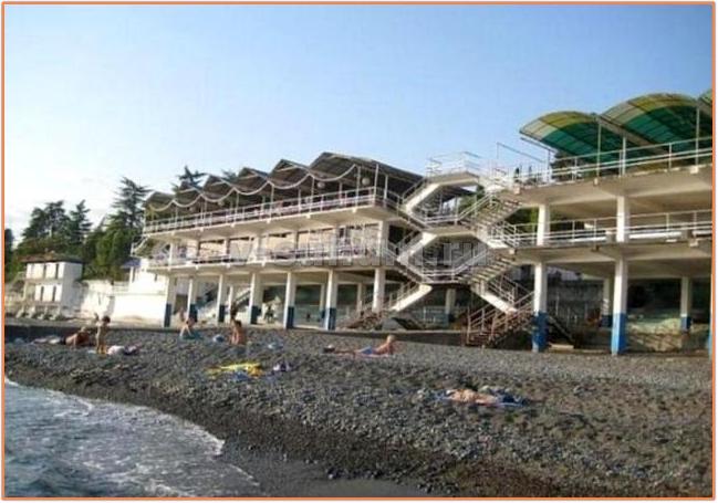 Пляжи Абхазии. Сухум. Пляж Айтар.
