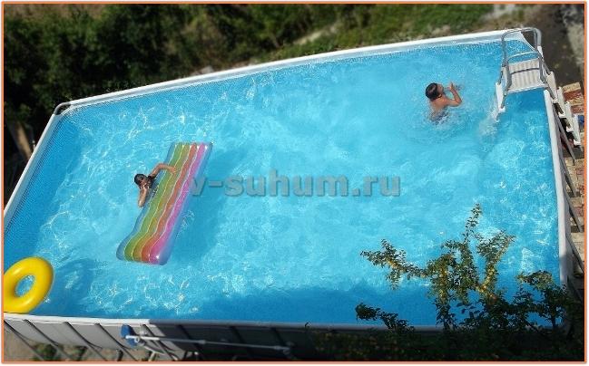Отдых в Абхазии мини-отели цены с бассейном