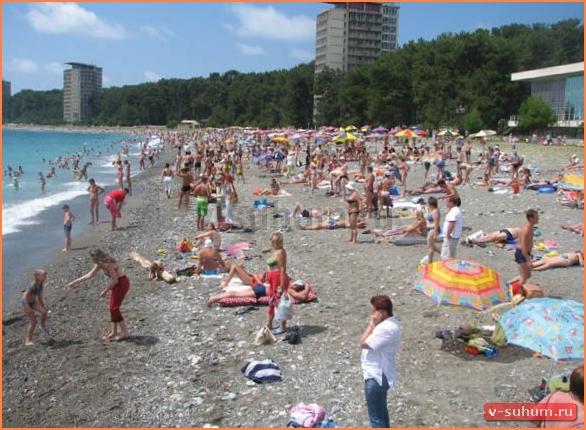 Отдых в Абхазии 2017 частный сектор Пицунда