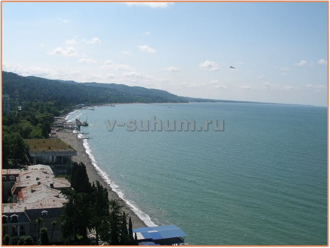 Отдых в Абхазии в апреле