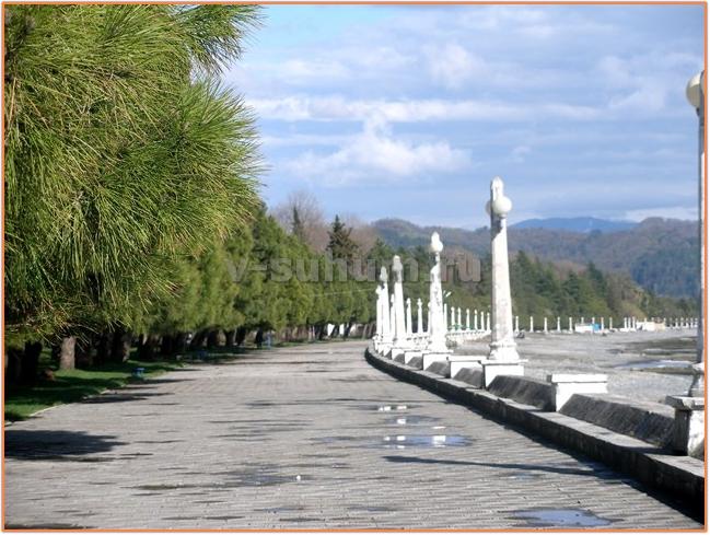 Отдых в Абхазии из Украины
