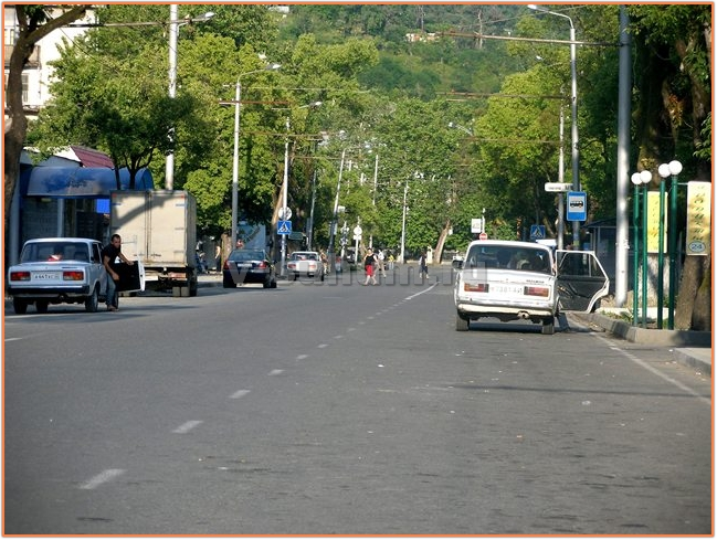 Абхазия отдых на машине