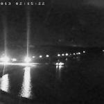 Пицунда веб-камера - вид ночью