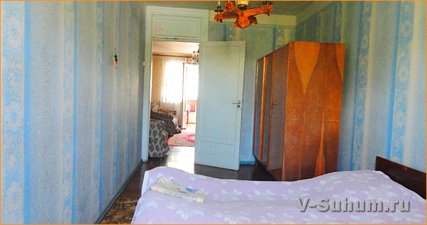 3х комнатная квартира в Пицунде