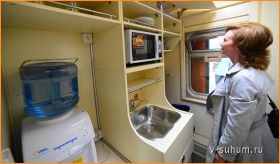 Мини-кухня для пассажиров