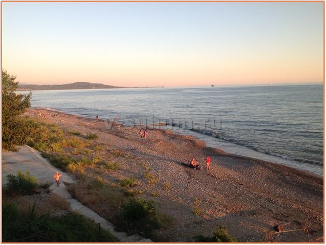 Курорты Абхазии Новый Афон фото пляж