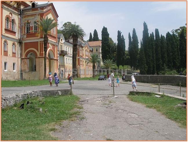 Курорты Абхазии Новый Афон фото