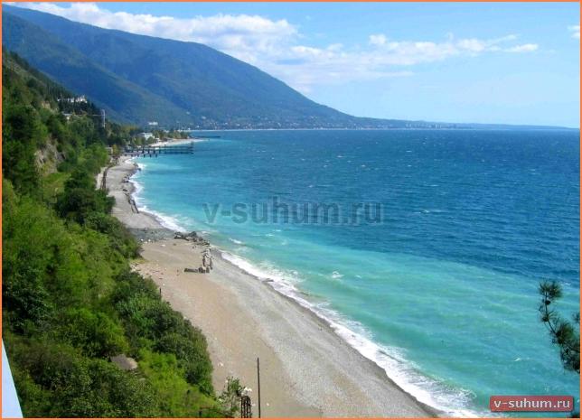 Курорты Абхазии Пицунда фото